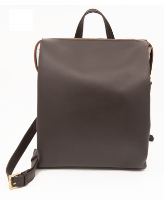 Backpack Vanity in smooth calfskin and suede